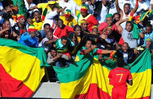Ethiopia Soccer Team wins