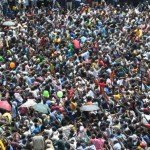 Thousands hold demonstration for the release of political detainees (Associated Press)