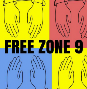 Free Zone 9 bloggers campaign image. Created by Hugh D'Andrade, remixed by Hisham Almiraat.