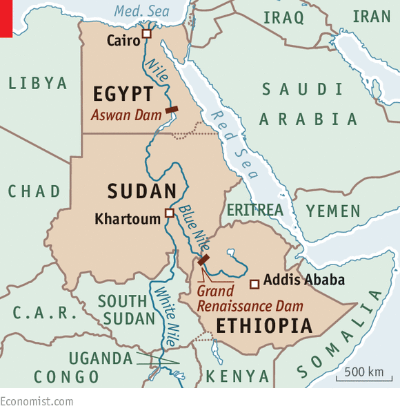 Sharing The Nile Egypt Sudan And Ethiopia Cyber Ethiopia - Map of egypt and sudan