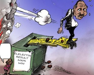 AddisFortune Cartoon: Reclaiming Popular Mandate for Legitimacy Crisis in Oromia
