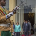 Merkel visiting Ethiopia as state of emergency unfolds