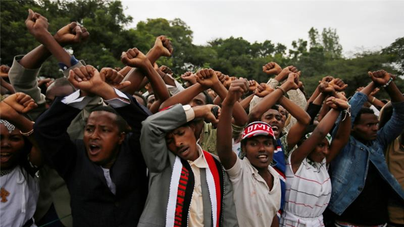 Oromia has experienced protests since November 2015 as people have called for wider political freedoms [Reuters]