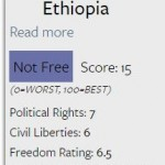 Ethiopia – Not Free, Not Connected, Not Developped