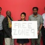 Zone 9 member Endalk, along with Advox staff talk about the Nine bloggers and journalists detained