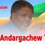 Ethiopia – Assurance urged for detained birton Andargachew Tsige